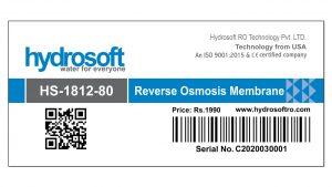 Hydrosoft RO Membrane