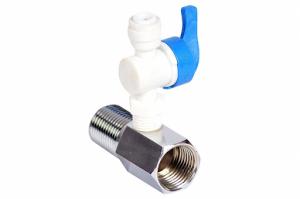 RO Fittings Complete in Plastic valve